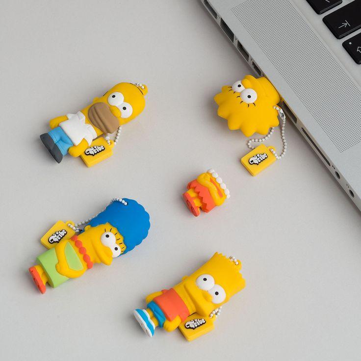 eu.Fab.com   Bart Simpson USB Stick 8GB