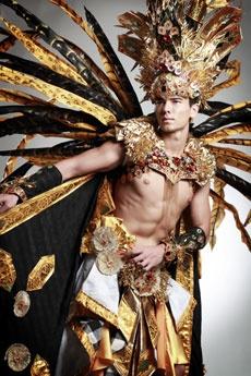 Indonesian costume