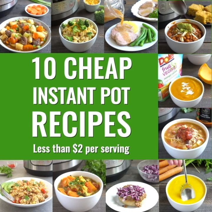 The Best Healthy Instant Pot Recipes When You Re On A Budget In 2020 Healthy Instant Pot Recipes Cheap Healthy Meals Cheap Instant Pot