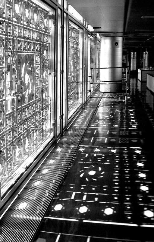 institut du monde arabe - 1987 lighting control system