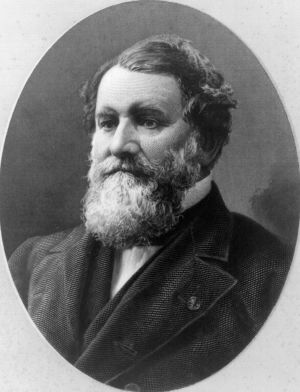 """Why Cyrus McCormick is the """"Father of Modern Agriculture"""": Cyrus McCormick, engraving by George Smillie"""