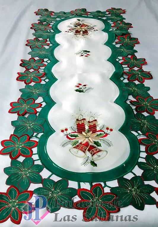 Image result for caminos de mesa navideños
