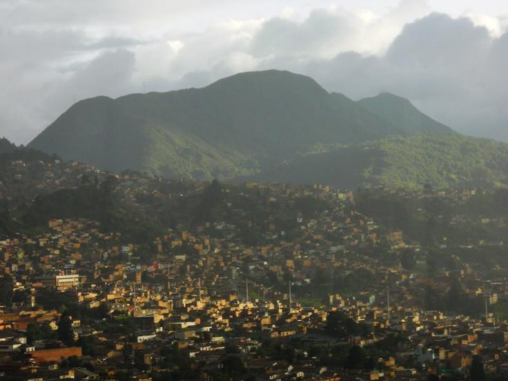 Cerro oriental.