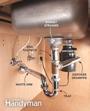 Replacing a kitchen sink and faucet is a quick way to give your