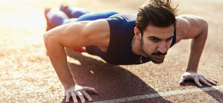 Door deze workout ga je 100 push ups kunnen in twee weken