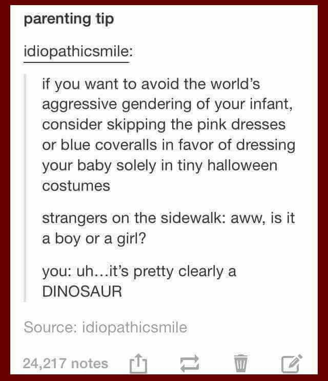 How to avoid gender stereotyping lol