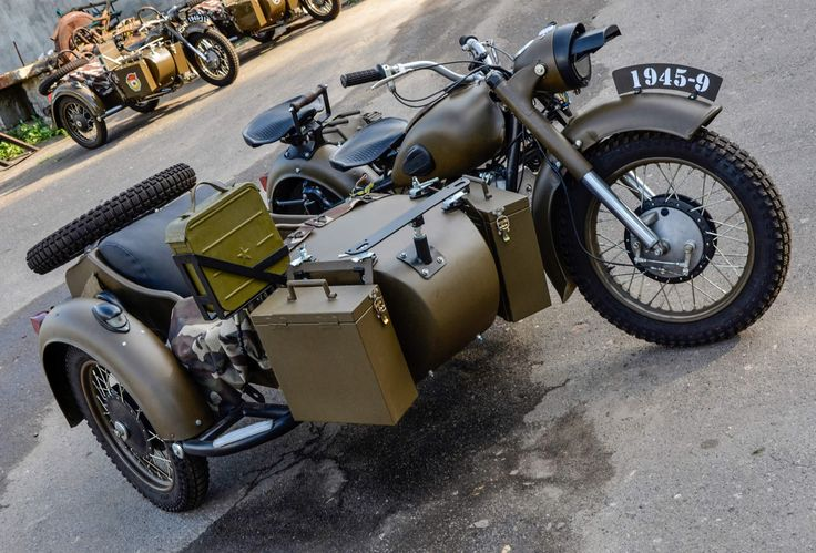 The Best Vintage Motorcycles For Sale On eBay, 12/30/14 Two Wheel Drive 1967 Dnepr MT-11