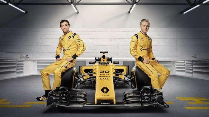 Formule 1 : Renault dévoile enfin sa livrée 2016