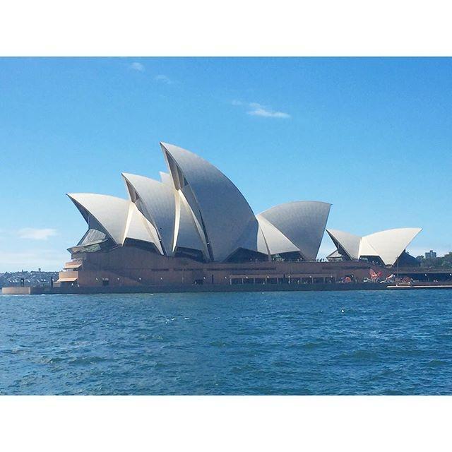 【mocha.1992】さんのInstagramをピンしています。 《#オーストラリア #シドニー #旅行 #オペラハウス #世界遺産 #劇場 #コンサート #近代建築 #シンボル #海 australia #sydney #trip #operahouse #worldheritage #theater #concert #modernarchitecture #symbol #sea #blue》