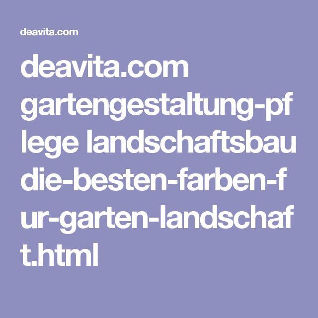 Fabulous deavita gartengestaltung pflege landschaftsbau die besten farben fur garten