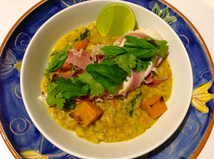 Green Chickpea and Israel Cous Cous Curry