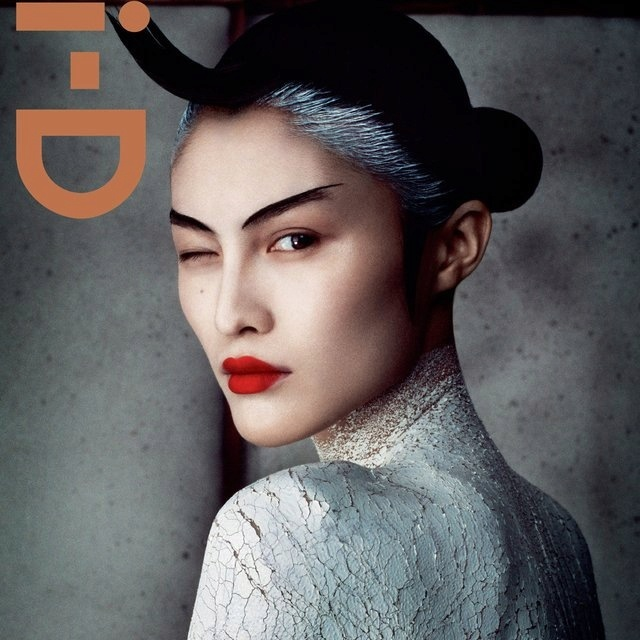 ID MagazineEditorial Layout, Asian Models, Fashion Models, Makeup, Red Lips, Graphics Design, Covers Design, Magazines Covers, I D Magazines