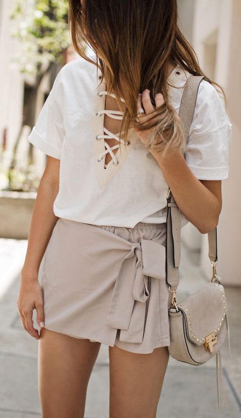 #summer #fashion monochrome