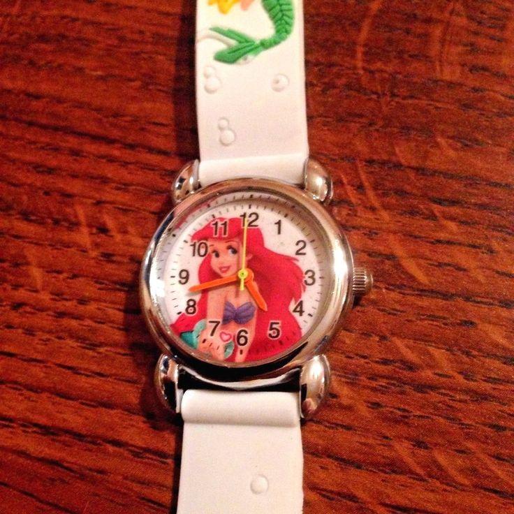 New White LITTLE MERMAID  Girls Silicone Watch 3-D  | eBay