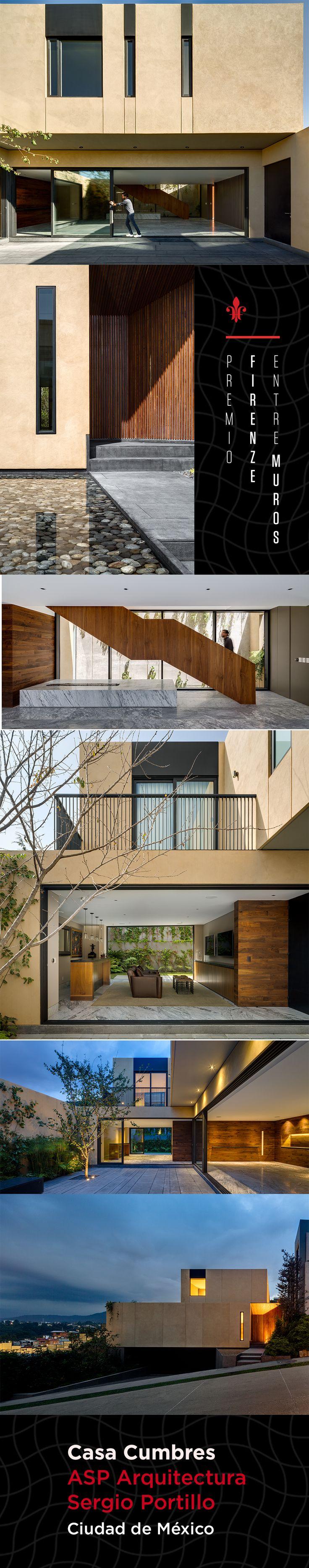 El programa arquitectónico de esta residencia se desenvuelve a partir de un gran patio del que resulta un diálogo entre interior y exterior y al que se debe la autosuficiencia climática. La definición del material se dio por la tierra comprimida.