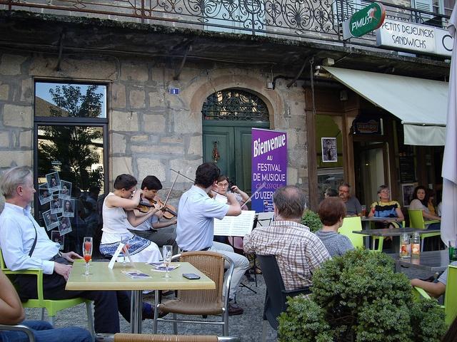 Festival de musique d'Uzerche, via Flickr.