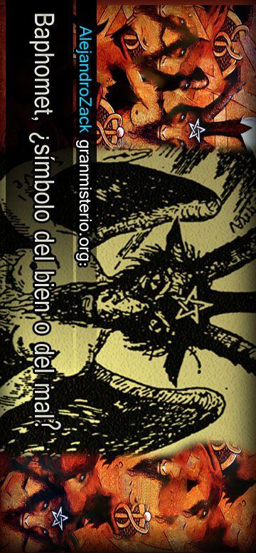 Este símbolo al ser representado como una cabeza de macho cabrío, cuerpo de hombre y alas, no es muy agradable a la vista, y al no concordar con las ideas que la mayoría de la gente  le relaciona rápidamente con el mal, o se le confunde con satanás. Vamos a ver cuáles son sus significados.