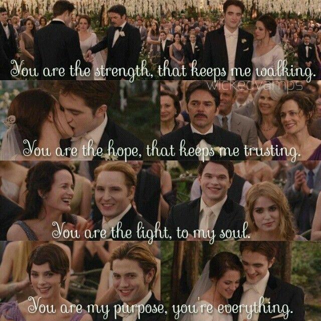 Twilight Wedding Quotes: Pin By Adishree Ram On Twilight Saga