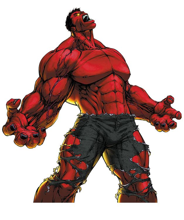 Red hulk awesome pinterest - Pictures of red hulk ...