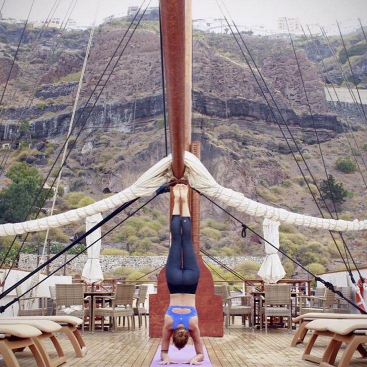 Activities on board #varietycruises #yoga #meditation #VarietyCruises #Greece