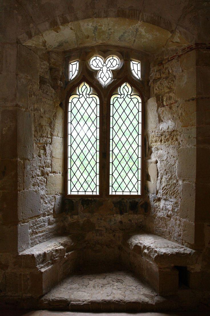 """ollebosse: """" Castle Window - Battle Abbey by NickiStock """""""
