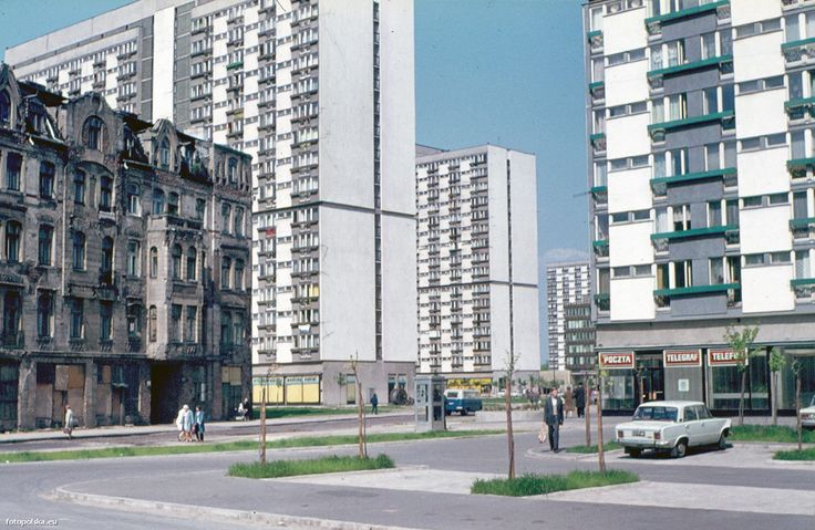 ul. Grzybowska, 05.1973 (fot. Helmut Lauterbach)