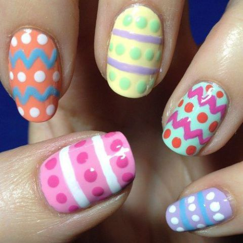 The 25 best nail designs pictures ideas on pinterest style its easter this weekend and weve found the best festive nail art for the prinsesfo Images