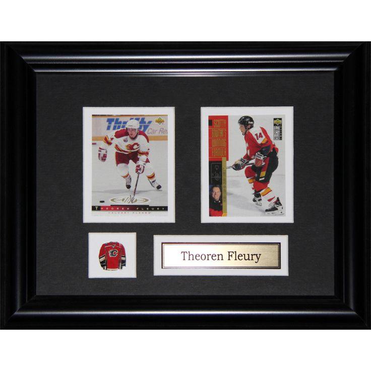 Midway Theoren Fleury Calgary Flames 2-card Frame