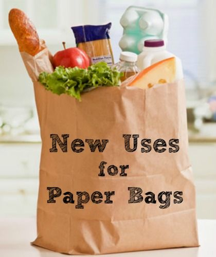 Awesome new uses for brown paper bags.
