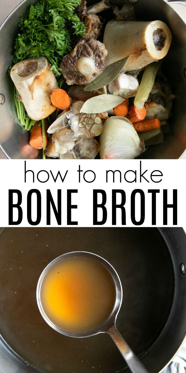 Bone Broth Recipe (How to Make Bone Broth)