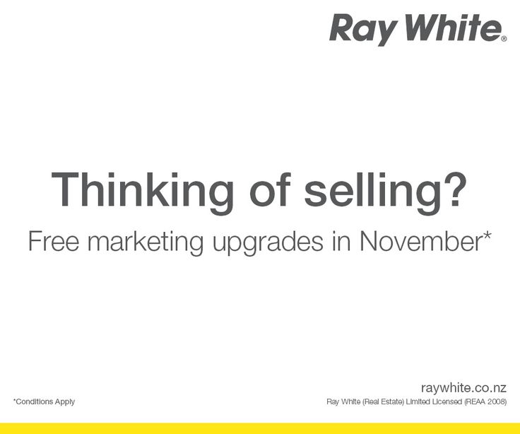 Selling a property is a beautiful ride with Ray White. Free marketing upgrades in November.* *conditions apply  Find the contact details for your nearest branch: http://aucklandcityrealty.co.nz/  #RayWhite #RayWhiteNZ #Upgrade