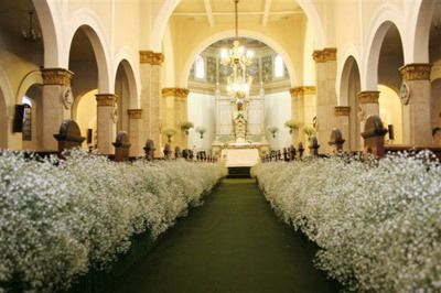 An inexpensive grand luxurious entrance to your nuptials. Baby, breath taking!