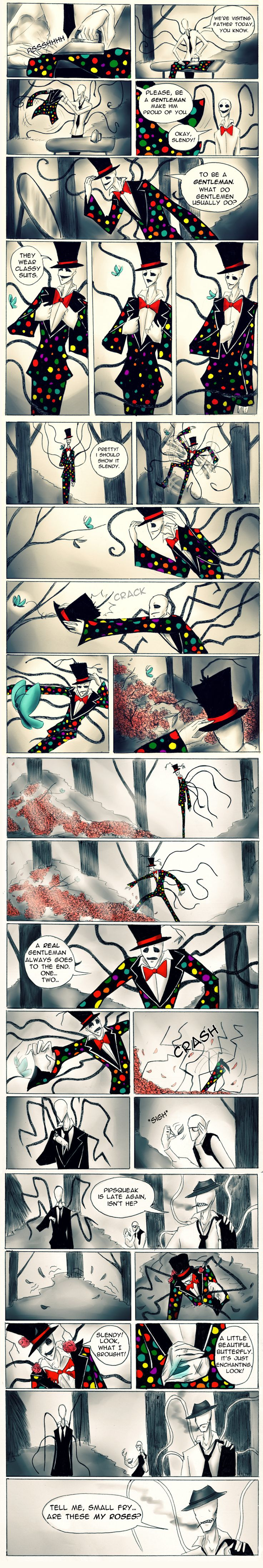 A real gentleman. by Paradoxoid.deviantart.com on @DeviantArt
