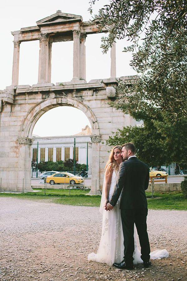 Stylish Χριστουγεννιατικος γαμος | Ματιλντα & Αλεξανδρος - Love4Weddings  #athens