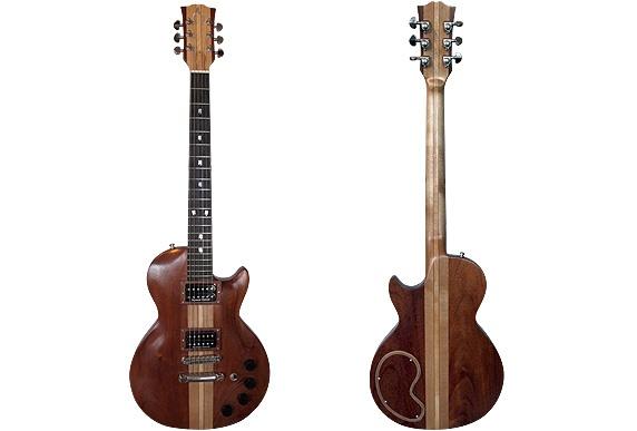 Wishbone Woodworking guitar