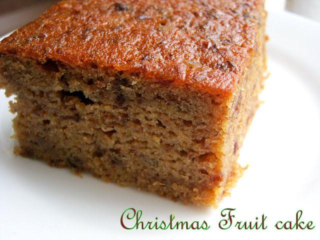 Various Cake Recipes In Marathi: Fruit Cake Guyanese Style
