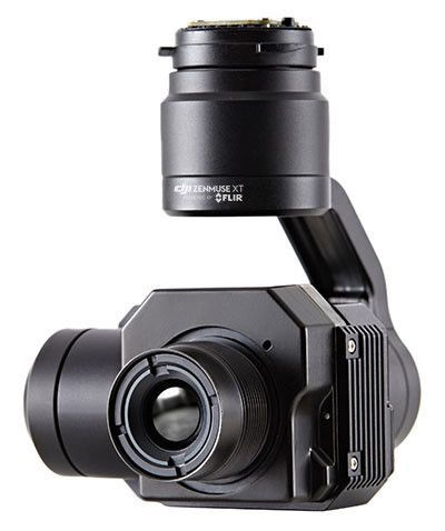 DJI Zenmuse XT 336x256 9Hz Slow Framerate Flir Tau2 Thermal Camera Performance Version