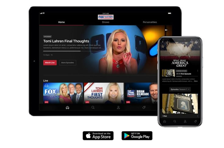 Fox Nation Opinion Done Right Exclusive Content Join