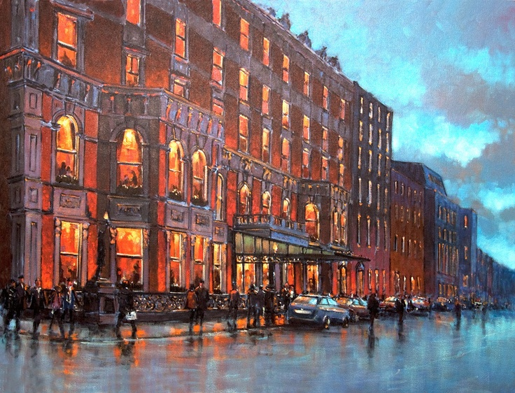 The Shelbourne Hotel by Chris McMorrow - PRINT
