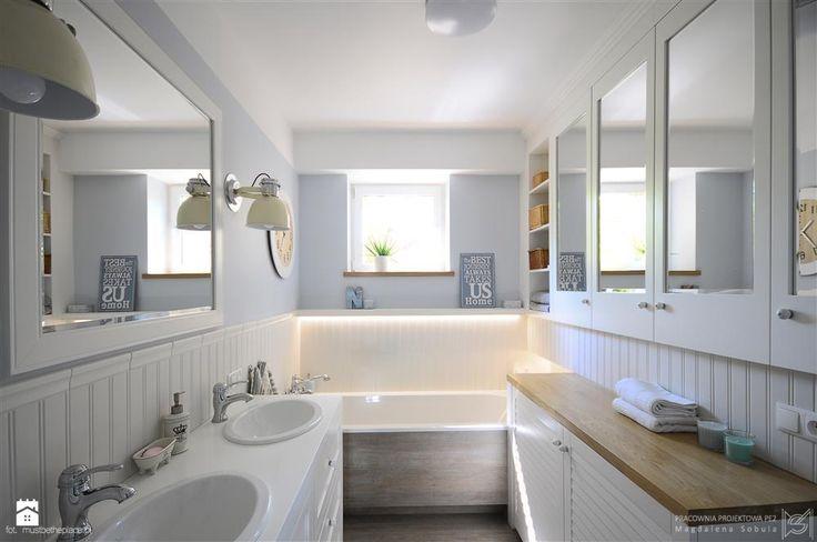 Pastelowa łazienka - zdjęcie od Magdalena Sobula Pracownia Projektowa Pe2 - Łazienka - Styl Klasyczny -  Magdalena Sobula Pracownia Projektowa Pe2
