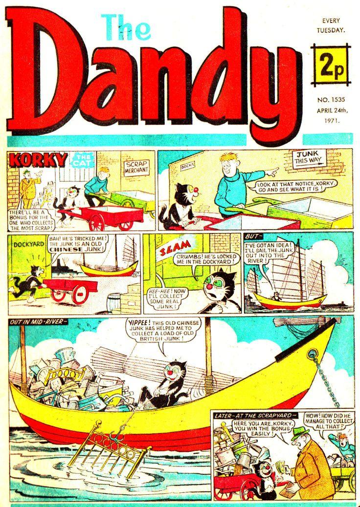 The Dandy Comic No 1535, 1971