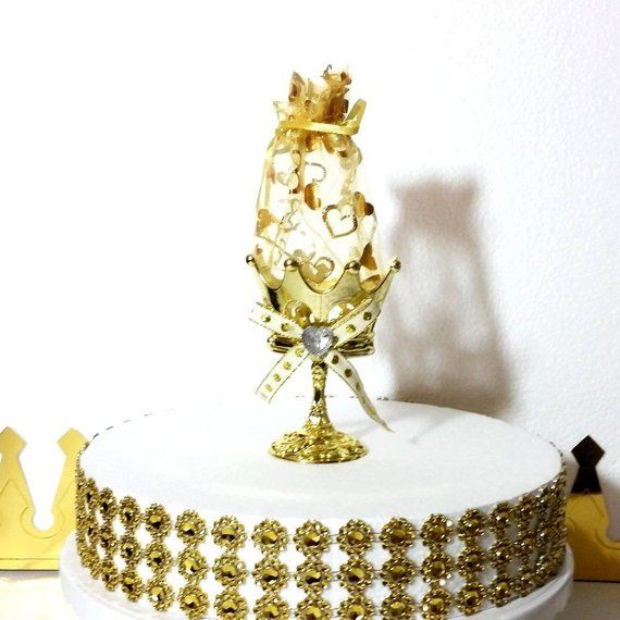 12 NEW Gold Cup Favors For Prince Baby Shower Perfect for a Boys RED and GOLD Baby Shower Theme and Prince Party Decorations