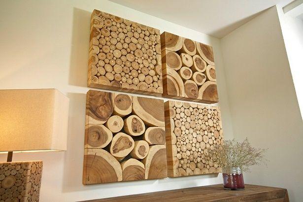 9 Genial Holz Deko Wohnzimmer  Holz wohnzimmer, Deko holz, Diy