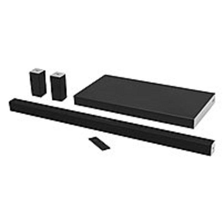 VIZIO SB4051-D5 Sound Bar Wireless Speaker - Portable - Wireless Speaker(s) - Black - 50 Hz - 20 kHz - Surround Sound, DTS TruSurround, DTS Digital Surround, Dolby Digital, DTS - Bluetooth - apt-X