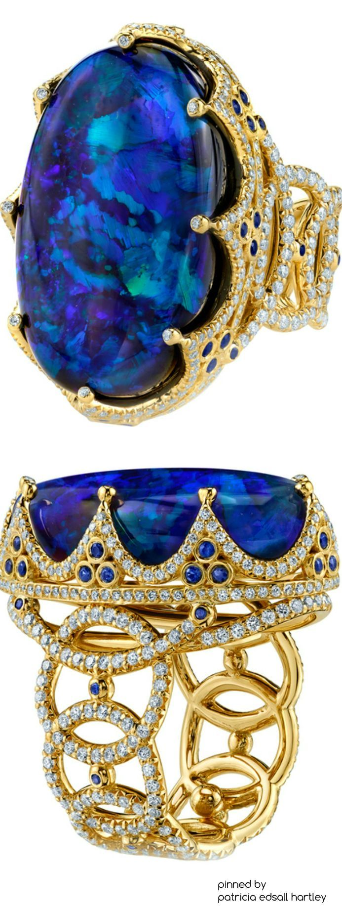 Rosamaria G Frangini | High Deep Blue Jewellery | Royal Ring