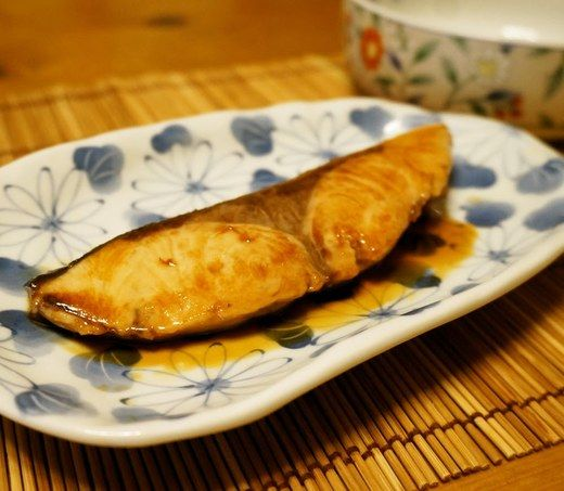 Amberjack teriyaki in a frying pan recipe recipe and for Amberjack fish recipes