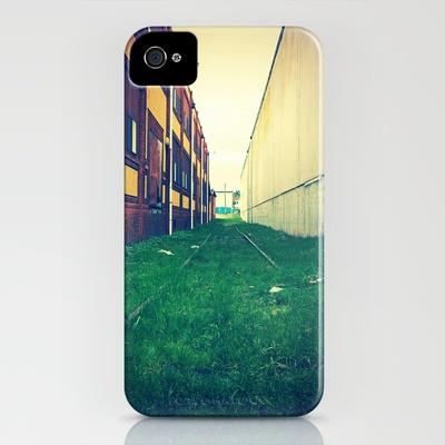 Abandoned tracks iPhone Case