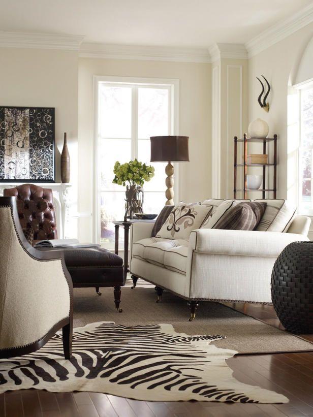 23 best My Zebra rug living room images on Pinterest | Living room ...
