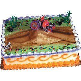 Amazon.com: Oasis Supply Motor Cross Cake Decorating Topper Kit: Kitchen & Dining
