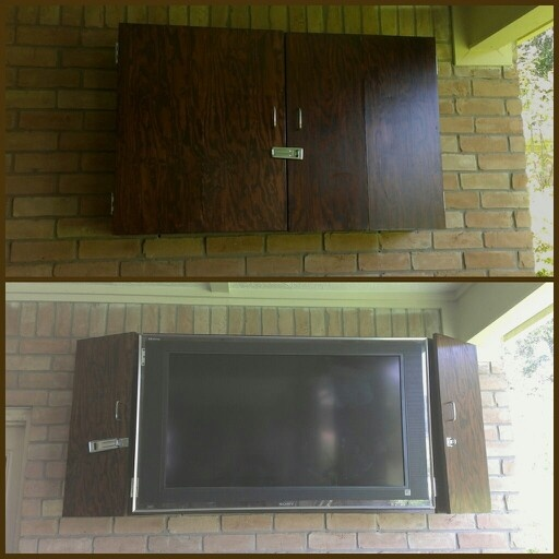 outdoor tv cabinet amazon enclosure box pinterest